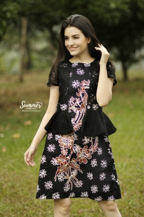 CA.2248 EVDORA BATIK DRESS - PO30DAYS