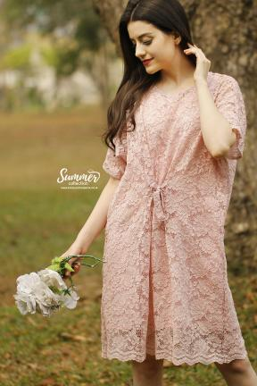 CA.2244 CLAIRE LACE DRESS