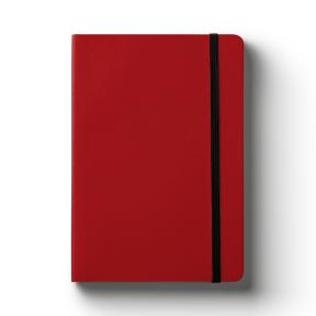 A5 Red (Lined Notebook)