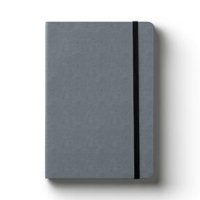 A5 Ostrich Grey (Lined Notebook)