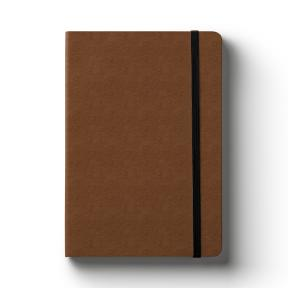 A5 Ostrich Coffee (Lined Notebook)