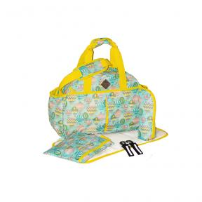 Freckles Travel Bag Green Baloon