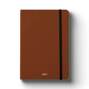 A5 Brown (Lined Notebook)