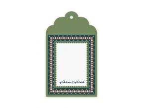 'Damietta' (Gift Tag Set of 12)