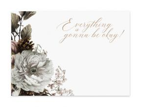 Everything Is Gonna Be Okay (Note Cards Set of 6)