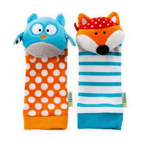bbluv Foot Finders Owl and Fox