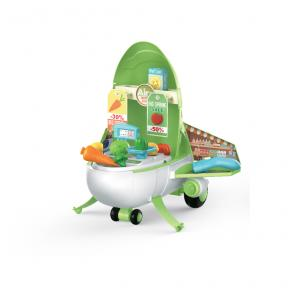OKIEDOG MAGICAL AIRPLANE PLAYHOUSE - SUPERMARKET