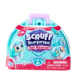 Scruff a Luvs - Vet Rescue Bag Biru - Mainan Bonaka Surprise