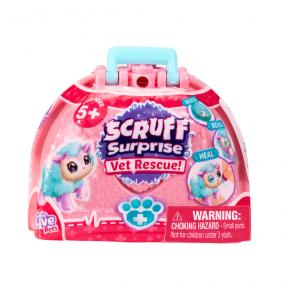 Scruff a Luvs - Vet Rescue Bag Pink -Mainan Bonaka Surprise