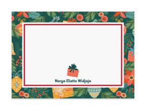 'Festive Day' (Note Cards Set of 6)