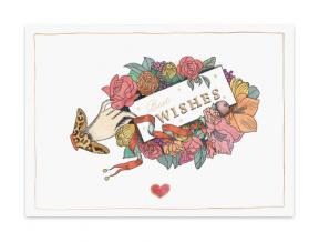 'Noelle' (Folded Note Cards Set of 6)