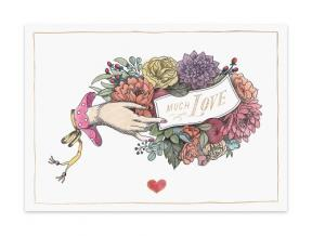 'Gia' (Folded Note Cards Set of 6)