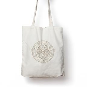 Pisces Calico Tote Bag