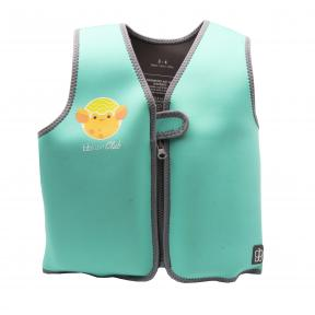 bbluv Naj Evolving Neoprene Swim Vest Aqua SIZE MEDIUM