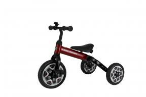 Rastar Official Lisenced kids bike -Land Rover 3 in 1 Balance Bike & Tricycle Foldable - Red - Sepeda Anak