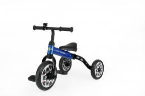 Rastar Official Lisenced kids bike -Land Rover 3 in 1 Balance Bike & Tricycle Foldable - Blue - Sepeda Anak