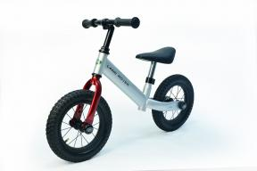 "Rastar Official Lisenced kids bike - Land Rover Balance Bike 12"" - Silver - Sepeda Anak"