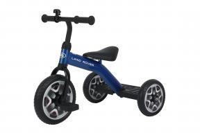 "Rastar Official Lisenced kids bike -Land Rover Tricycle 10""-  Blue - Sepeda Anak"
