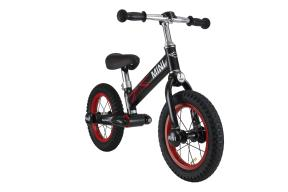 "Rastar Official Lisenced kids bike -Mini Cooper 12"" Kid Balance Bike - Black - Sepeda Anak"