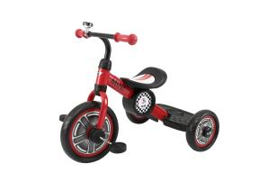 Rastar Official Lisenced kids bike -Mini Cooper Tricycle Bike - Red - Sepeda Anak