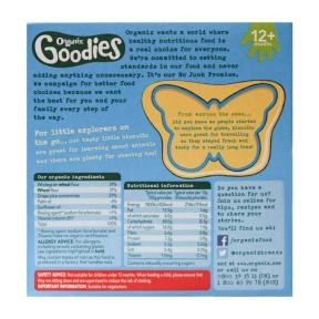 Goodies Organic Animal Biscuits (12 mths+) 80 gr