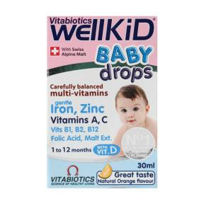 Wellkid Baby Drops 30ml