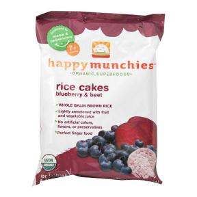 Munchies Rice Cakes Blueberry & Beet 40g