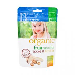 Bellamy's Organic Fruit Snacks - Apple & Banana 20g