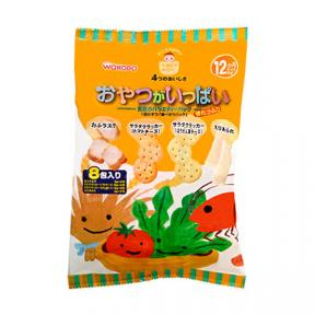 Wakodo Baby Snacks - Assorted Pack Yellow