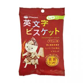 Wakodo Baby Snacks Alphabet-Figured Biscuits