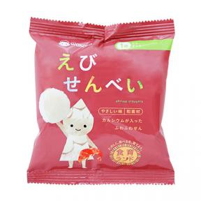 Wakodo Baby Snacks - Shrimp Crackers