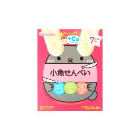 Wakodo Baby Snacks - Soft Rice Crackers With Anchovies