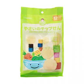 Wakodo Baby Snacks - Potato and Corn Chips with Vegetables