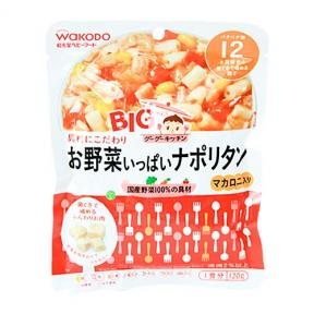 Wakodo Pouch Bag - Macaroni With Vegetables in Tomato Ketchup Sauce