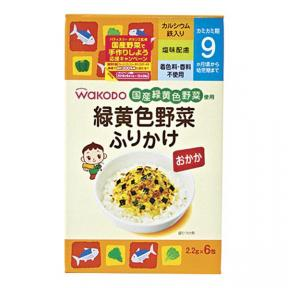 Wakodo Seasoning For Steamed Rice - Fermented Soybean And Vegetable