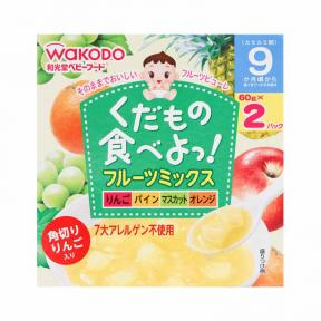 Wakodo Mix Friut (Apple,Pinneapple,Orange,Grape)