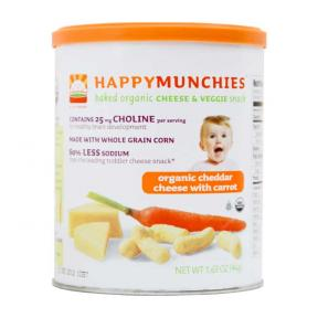 Happy Baby Happy Munchies - Cheddar Cheese with Carrot