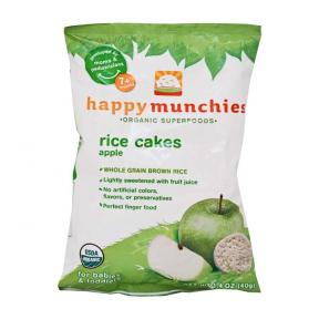 Happy Baby Happy Munchies Rice Cakes - Apple 40g