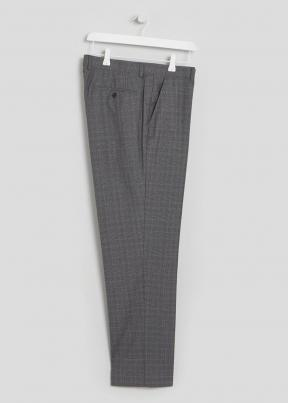 Regular fit Delamere suit trouser in a grey
