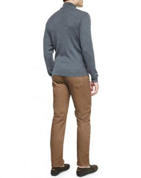 Peter Millar Merino Wool Turtleneck Sweater