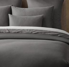 Italian Sateen Colorblock Bedding Collection