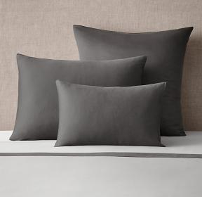 Italian Sateen Colorblock Sham