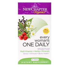 New Chapter Organics Every Woman One Daily, 24 tablets