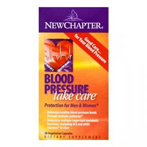 New Chapter Organics Blood Pressure Take Care 30Vcaps