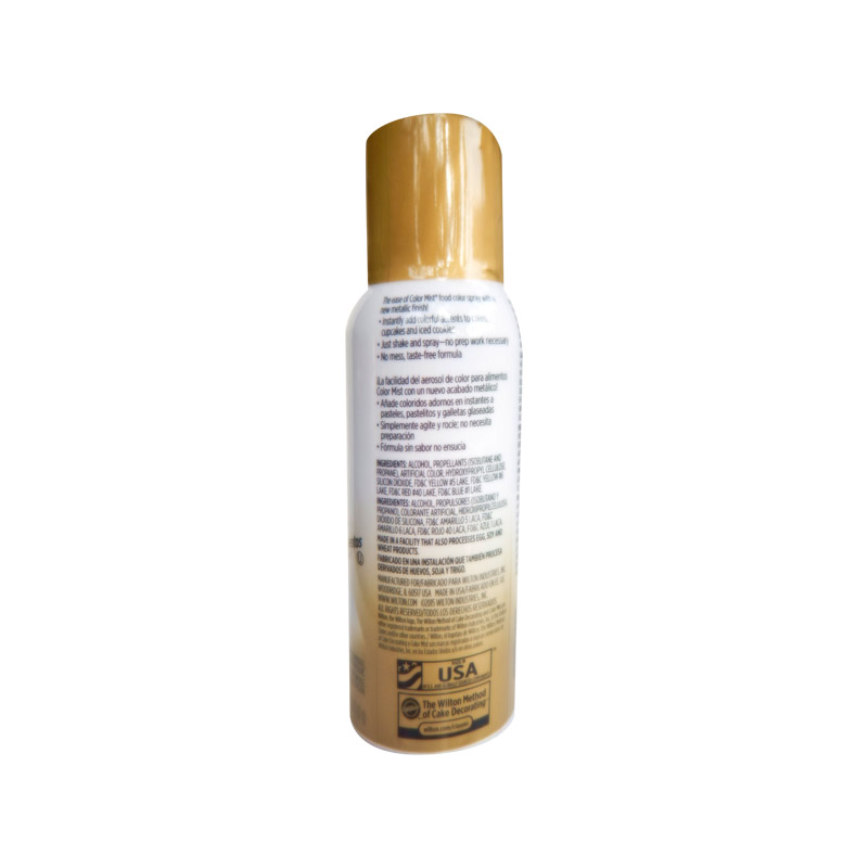Wilton Color Mist Gold Food Coloring Spray