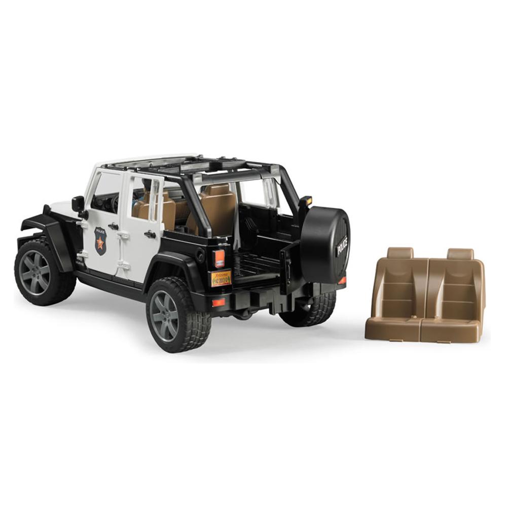 Tosyen Com Bruder Toys 2526 Jeep Wrangler Unlimited Rubicon Police Vehicle Dark Skin